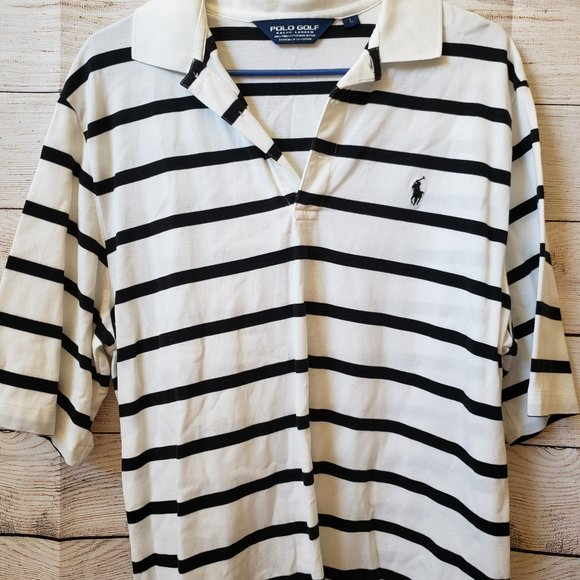 Polo by Ralph Lauren Other - Polo Golf Black And White striped (LG)